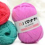 Retail 25g Colorful 4# Combed Soft Baby Milk Cotton Yarn Fiber Velvet Yarn Hand Knitting Wool Crochet Yarn DIY Sweater