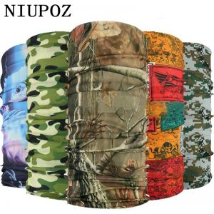 2020 New Multi Functional Bandana Headband Ring Neck Scarf Camouflage Leaves Seamless Tubular Magic Face Scarf Gift for Baby