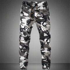 New Joggers Men Hot Sale Casual Camouflage Pants Men Quality 100% Cotton Elastic Comfortable Trousers Men Plus Size M-3XL