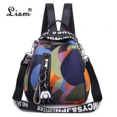 New Multifunction Backpack Women Waterproof Oxford Bagpack Female Anti Theft Backpack Schoolbag for Girls Sac A Dos mochila