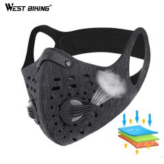 Sport Face Mask With Filter KN95 Activated Carbon PM 2.5 Anti-Pollution Running Training MTB Road Bike Cycling Mask