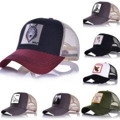 Fashion Mesh Baseball Cap Unisex Lovely Animals Caps Women&Men Snapback Cap Dad Hat Summer bone Adjustable gorras