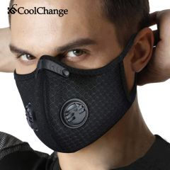 CoolChange Cycling Face Mask KN95 Activated Carbon With Filter PM2.5 Anti-Pollution Bike Sport Protection Dust Mask Anti-droplet