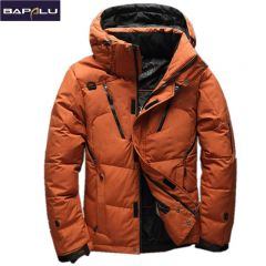 High Quality 90% White Duck Down Jacket men coat Snow parkas male Warm Brand Clothing winter Down Jacket Outerwear