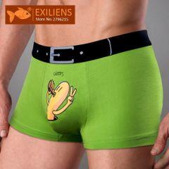 New Mens Underwear Boxer Modal Homme Boxershorts Men Boxers Sexy Male Underpants Print Cartoon