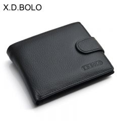 Wallet Men Leather Genuine Cow Leather Man Wallets With Coin Pocket Man Purse leather Money Bag Male Wallets Wholesale