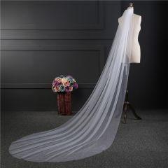 3M or 2M White/Ivory Wedding Veil One-layer long Bridal Veil Head Veil Wedding Accessories Hot Sell