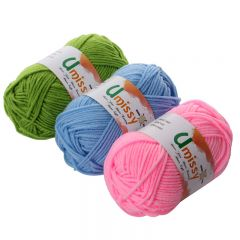 1pc crochet Yarn Cotton Knitting Yarn Crochet Yarn for Knitting Anti-Static Soft Cheap Yarn Factory Price for Sale 25g