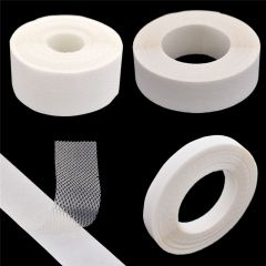 She Love 1Roll 10 Metres Hot Melt Adhesive Mesh Tape Double-sided Release Protector Paper Film Fastener Tape