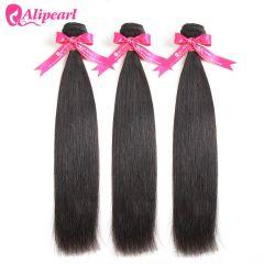 Straight Hair Weave 3 Bundles Deal 100% Remy Human hair Bundles 10 12 14 16 18 20 22 24 26 28 30 inches