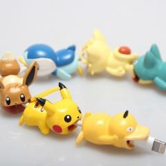 Pokemon USB Protective Case Cable Bite Cosplay Accessories Prop Pikachu Eevee Pokemon Go