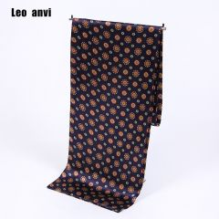 Paisley print cravat silk Scarf luxury brand men foulard Satin Scarves,Retro Soft Scooter bandana pattern male shawls and wraps