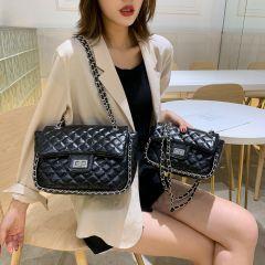 Women Handbag New Korean Fashion Casual Plaid Chain Shoulder Messenger Bag Famous Classic Brand Designer Crossbody Bag