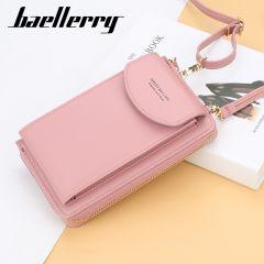 Women Wallet Brand Cell Phone Wallet Big Card Holders Wallet Handbag Purse Clutch Messenger Shoulder Straps Bag