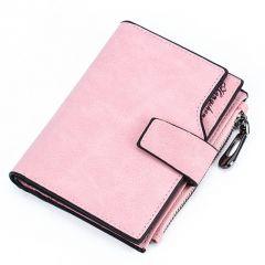 Leather Wallet Women Short Purse Card Holder Women Wallets Money Bag Round Zipper Coin Pocket Ladies Purse Clutch