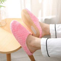 Women Indoor Slippers Warm Plush Lovers Home Slipper Anti Slip Autumn Winter Shoes Woman House Floor Soft Slient Slides