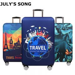 Thicken Suitcase Protective Covers For 18-32 Inch Suitcase Case Travel Luggage Bag Trolley Elastic Luggage Cover