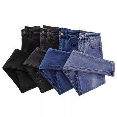 Women Jeans High Waist Blue Pants Jeans for Women High Elastic Skinny Stretchy Women Pants Lift Hips