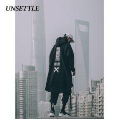 japanese sweatshirt Mens Oversize Hoodies Long Fleece Cloak Hip Hop Outwear Streetwear Coat Harajuku Style Male Tops