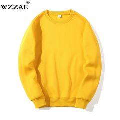 Solid Sweatshirts New Spring Autumn Fashion Hoodies Male Large Size Warm Fleece Coat Men Brand Hip Hop Hoodies Sweatshirts