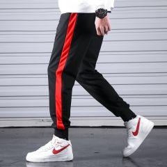 Men Casual Sweatpants Fitness Side Stripe Men's Sportswear Joggers Pants Cotton New Male Gyms Trousers Pantalones Hombre