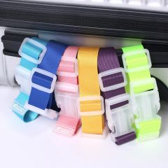 High Quality Adjustable Suitcase Bag Luggage Straps Buckle Baggage Tie Down Belt Lock Hooks Travel Accessories