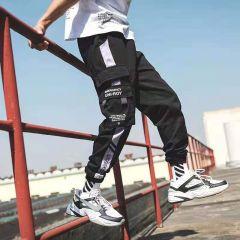 Men Multi-pocket Harem Hip Pop Pants Trousers Streetwear Sweatpants Hombre Male Casual Fashion Cargo Pants Men Jogger Pants