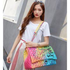 bags for women graffiti female bags Super large capacity travel luxury handbags designer bags Famous brand women tote bags