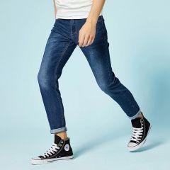 men slim fit pants classic jeans male denim jeans Designer Trousers Casual skinny Straight Elasticity pants
