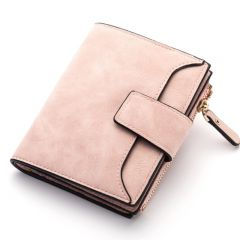 New Leather Women Wallet Hasp Small and Slim Coin Pocket Purse Women Wallets Cards Holders Luxury Brand Wallets Designer Purse