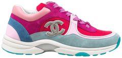 Chanel Wmns Sneaker 'Fuchsia Pink'