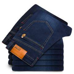 New cotton Jeans Men High Quality Famous Brand Denim trousers soft mens pants autumn jean fashion Large Big size 40 42 44