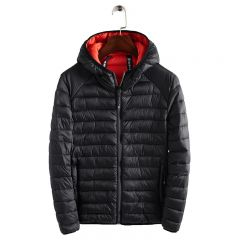 Winter Ultralight Mens Cotton Down Jackets Lightweight Overcoats Casual Classic Coats For Male