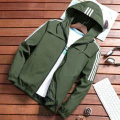 Spring Autumn Fashion Brand Slim Fit Coats Male Casual Baseball Bomber Jacket Mens Overcoat Plus size 4XL