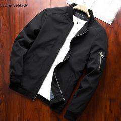 Men Bomber Jacket Thin Slim Long Sleeve baseball Jackets Windbreaker Zipper Windbreaker Jacket Male Outwear Brand Clothing