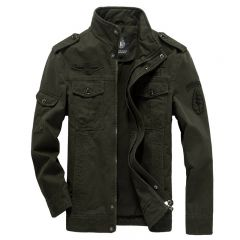 Cotton Military Jacket Men Autumn Soldier MA-1 Style Army Jackets Male Brand Slothing Mens Bomber Jackets Plus Size M-6XL