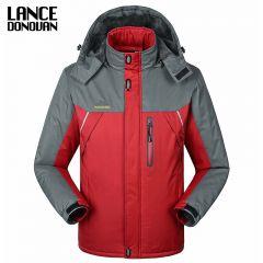 Warm Winter Jacket Waterproof Windproof Men's Windbreaker