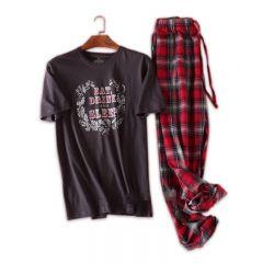 130kg 100% cotton pyjamas men Sleepwear pijamas hombre Short sleeve casual men homewear pajamas sets for male