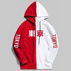 Summer New Arrival Cool Tokyo City Printing Harajuku Pullover Hoodies Hip Hop Thin Sweatshirt Hoodie Sudadera Hombre