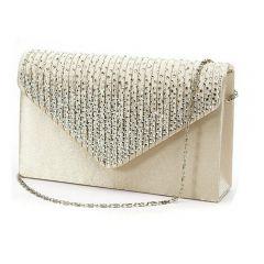 Women's Clutch Diamante Ladies' Evening Purse Vintage Chain Wallet Party Envelope Phone Handbag Bolsa Feminina