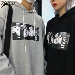 Men's Hoodies Naruto Harajuku Unisex Hoodie Japanese Anime Funny Printed Fun Streetwear Fashion Casual Male's sweatshirt Coats