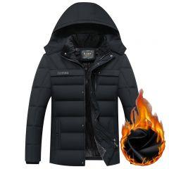 Winter Jacket Men -20 Degree Thicken Warm Parkas Hooded Coat Fleece Man's Jackets Outwear Jaqueta Masculina