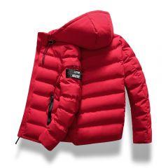 New Fashion Men Winter Jacket Coat Hooded Warm Mens Winter Coat Casual Slim Fit Student Male Overcoat