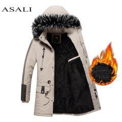 New Winter Jacket Men -15 Degree Thicken Warm Men Parkas Hooded Fleece Man's Jackets Outwear Cotton Coat Parka Jaqueta Masculina