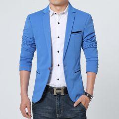 New Arrival Luxury Men Blazer New Spring Fashion Brand Slim Fit Men Suit Terno Masculino Blazers Men