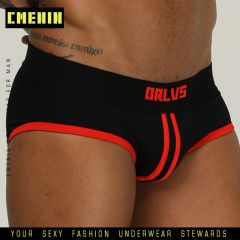 New designed Brand Men Underwear Briefs Slip Mesh Shorts Cueca Gay men Underwear sexy Male panties Breathable Cotton