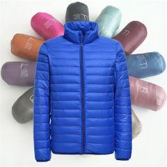 New Mens Ultralight Jacket Casual Autumn Winter White Duck Down Windbreaker Overcoat Warm Parka Male Coat Fashion Outerwear